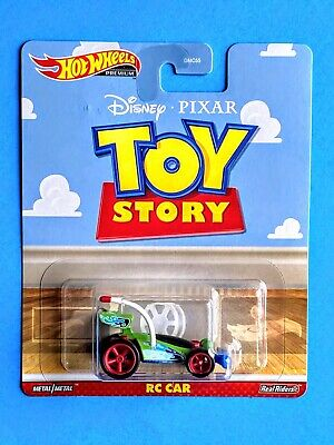 """Hot Wheels Premium Disney/PIXAR Toy Story """"RC CAR"""" 1/64 Die Cast Real Riders NIP"""