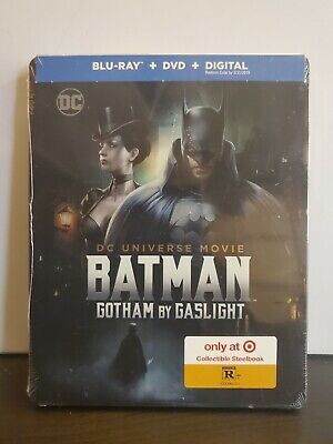Batman: Gotham by Gaslight (Blu-ray 2018 Includes Target Exclusive Steelbook New