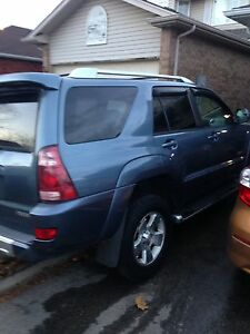 Handicapped Equipped (opitional) 2004 Toyota 4Runner Limited V6 Cambridge Kitchener Area image 3