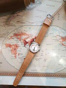 Vintage 1933 omega cushion case watch