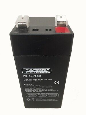 Tor Rey Scale Replacement Battery 4 Volt 2.5ah20hr - 21900926