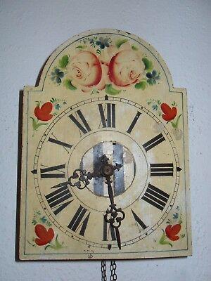 Schwarzwald Uhr mit Kettenaufzug, um 1900