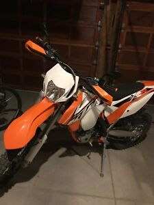 Ktm 350 xcf.  Blue plated enduro