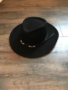 Black Cowboy Hat (size XL)