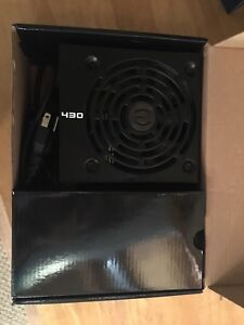 430W EVGA 80+ power computer supply