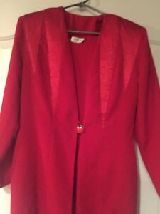 Red Dress and Jacket size 16