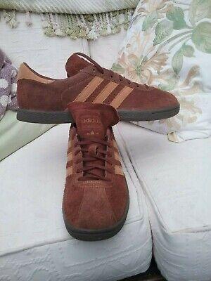 Rare Adidas 2013 tobacco UK 9.5 bnibwt. London MALMO trimm star Dublin.
