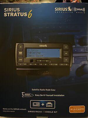 Sirius XM Stratus 6 Satellite Radio Receiver and Vehicle Car Kit NEW SEALED