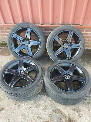 """MERCEDES ML W164 20 """" INCH ALLOY WHEELS AND TYRES FULL SET 295/40/R20"""