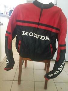 Genuine leather jacket Honda for sale