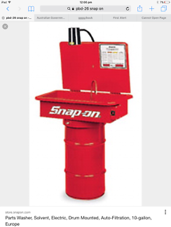 Snap On Tools Parts Washer
