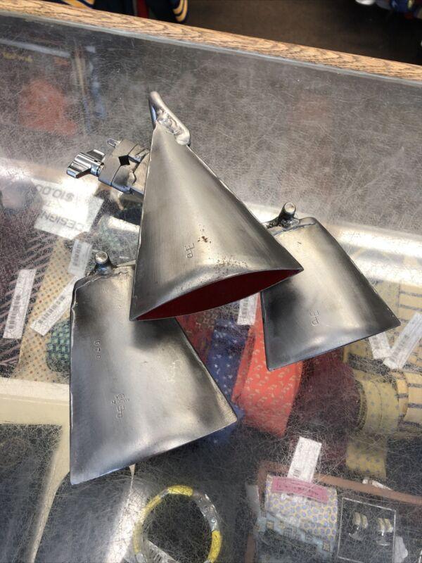 Gon Bops Pete Engelhart 3 Bell Triangle Silver S-705