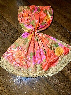 Vintage Half Slip Vanity Fair Tricot Nylon Small Bright Colors
