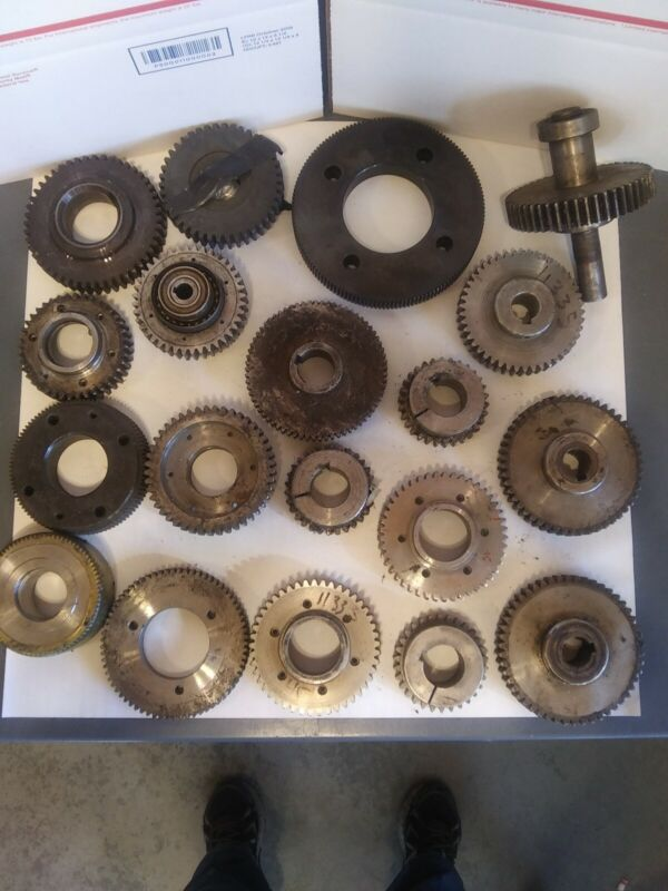 Gear Assortment Lot (19 Used Gears)