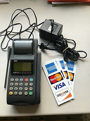 Nurit 3010 Wireless Credit Card Processor With Power Supply