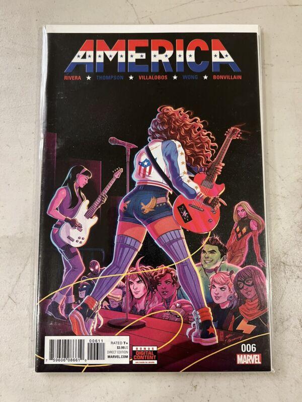 America 6 #006 Rivera Villalobos 2017 America Chavez Jen Bartel Cover