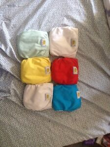 Size small AMP brand cloth diapers all in one next to new