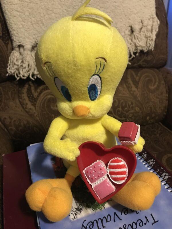 2007 Looney Tunes TWEETY BIRD Animated Plush Talking &  Singing I Want Candy