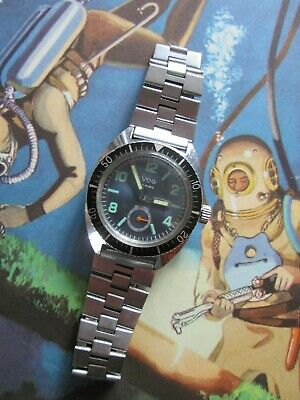 Vintage Steel Divers Watch (1970's)-One Owner.