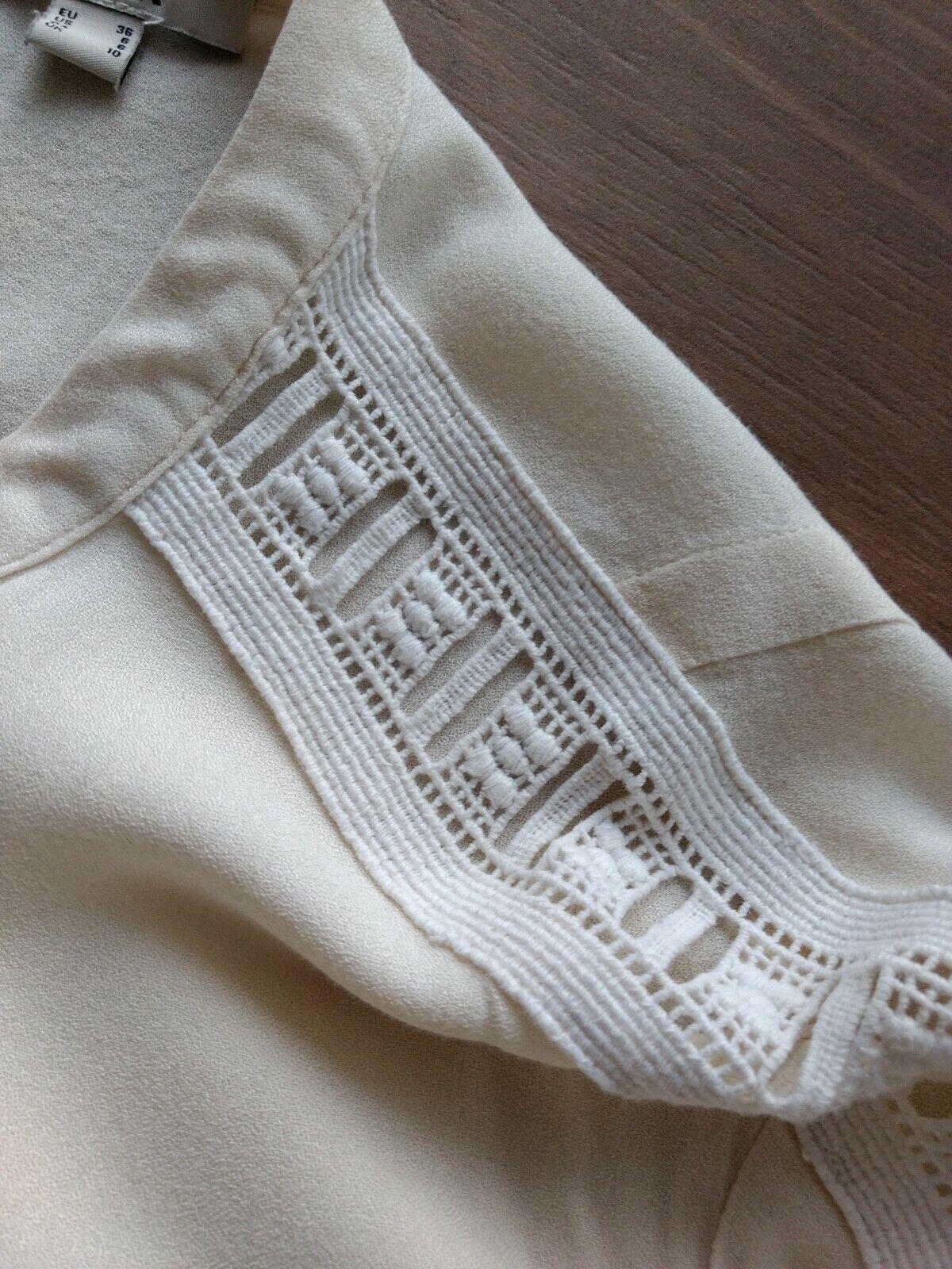 Mexx Bluse Shirt Gr. 36  Langarmshirt Pullover Pullunder Bluse Damen Mädchen