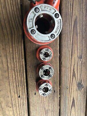 Ridgid D-286 12r 12-r Pipe Threader Ratchet Head No Handle Lot2 Shelf R3