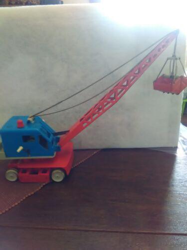 Blechspielzeug Bagger Von Gama Fahrzeug Spielzeug Alt Selten Rar