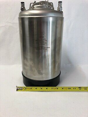 Nsf 29748ps 3 Gallon Ball Lock Keg Stainless Steel Corny Keg Never Used