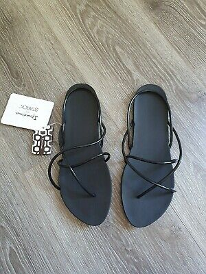 New black Ipanema Starck sandals Size Uk7