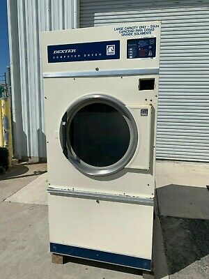 Dexter Commercial Coin Op Dryer 55lb Giant Load Pn Drc55 Reconditioned