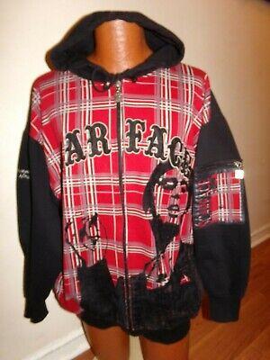 Men's Scarface Clothing Company Full Zip Hoodie 2XL Deluxe TM Tony Montana. Rare