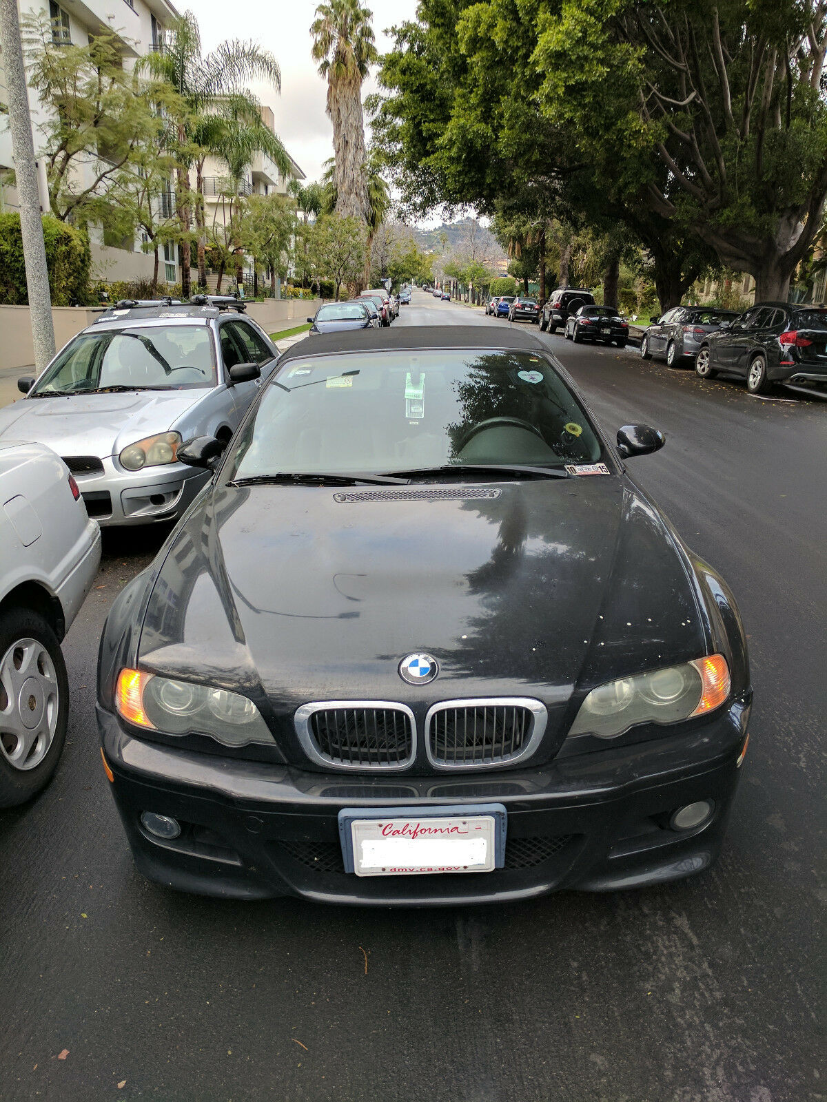 2002 BMW M3 Base Convertible 2-Door 2002 e46 BMW M3 Convertible SMG