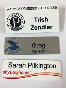 Printed and Engraved Name Badges