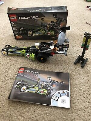 Lego 42103 Technic Dragster / Hot Rod - COMPLETE with box & manual