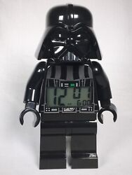 LEGO Star Wars Darth Vader Mini-Figure Light Up Alarm Clock EXCELLENT CONDITION