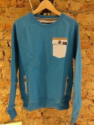 Sin of Men. Mens blue sweater. Size medium