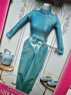 Vtg Barbie 90s Doll Clothes FASHION AVENUE Satiny Pant Set 14980 1996 MIB