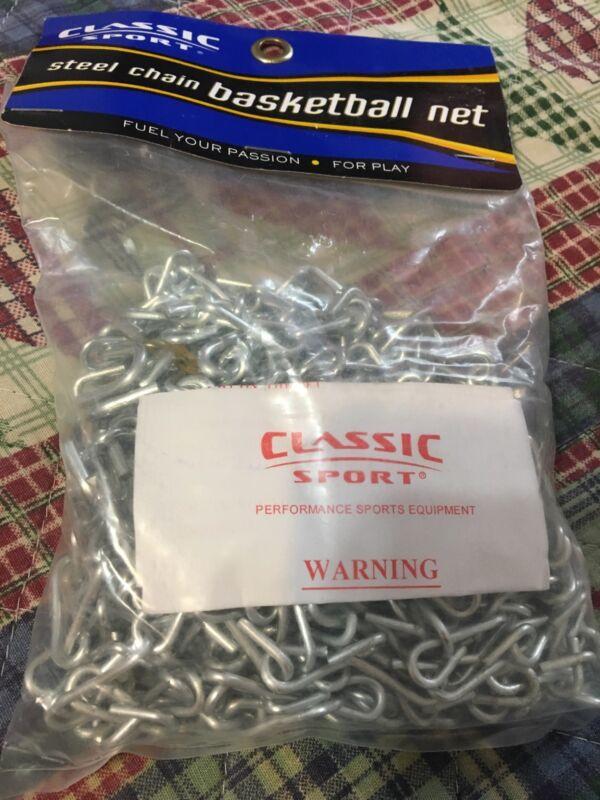 Classic Sport Steel Chain Basketball Net