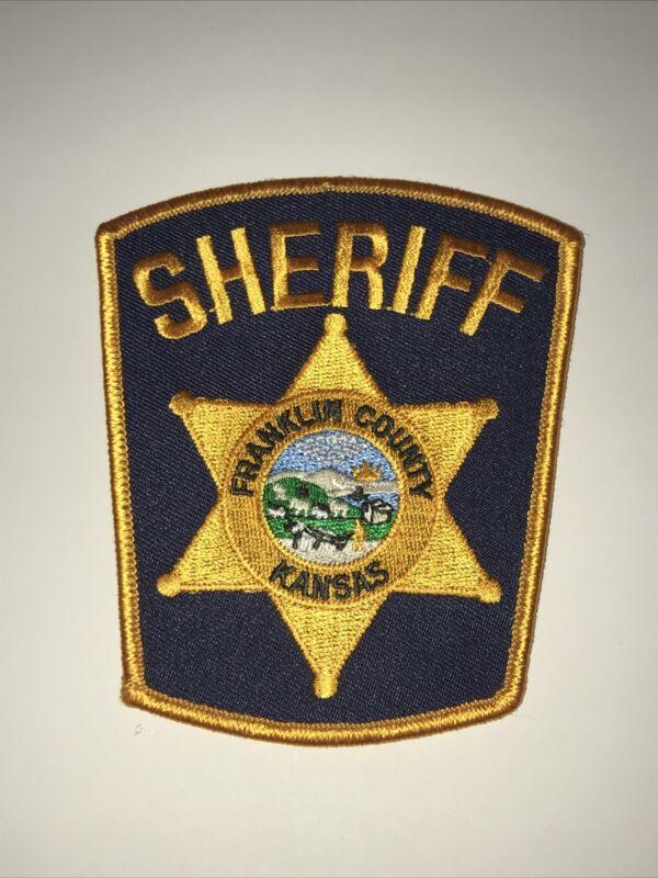 Franklin County Kansas Sheriff Dept Shoulder Patch