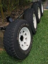 Toyota Hilux 4 x 4  Tyres and rims Hamilton Brisbane North East Preview