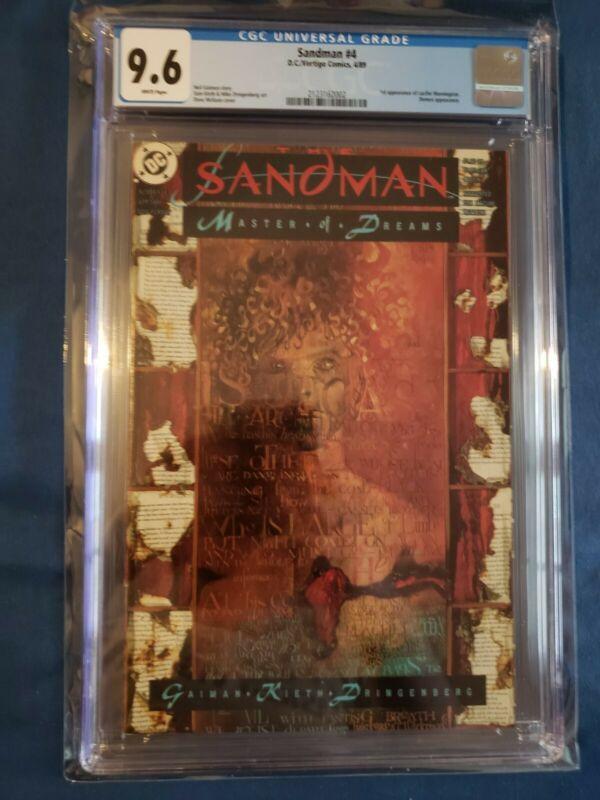 Sandman #4 CGC 9.6 1st appearance of Lucifer Morningstar 1989 Netflix confirmed!