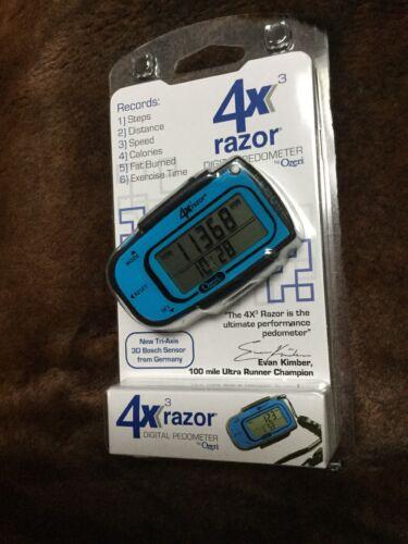 Ozeri 4x3razor 3D Pedometer and Tracker with Tri-Axis Techno