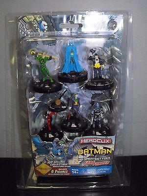 DC HEROCLIX BATMAN HIS GREATEST FOES FAST FORCES SET