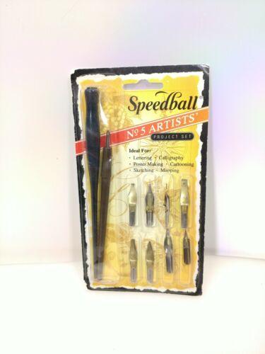 Speedball No.5 Artists