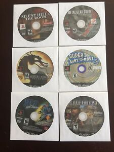 PlayStation 2 games lot of 6