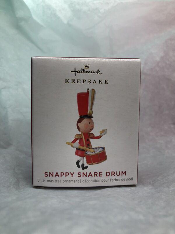 2021 Hallmark Keepsake Miniature Ornament Snappy Snare Drum