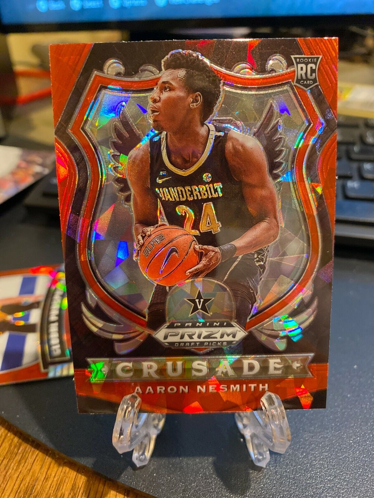 Certification Number 95 - Aaron Nesmith (Red Ice Prizm)