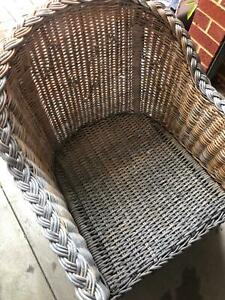 Cane * wicker * chair