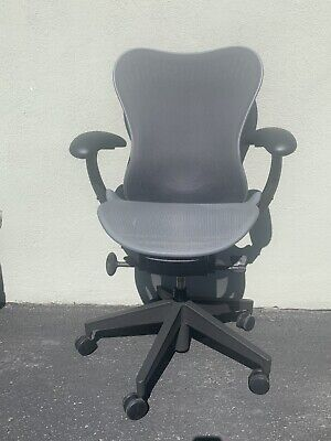 New Herman Miller Mirra 2 Home Office Chair - Black Graphite Fully Loaded Lumbar