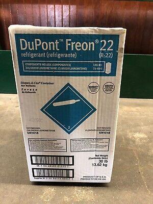 Dupont Factory Sealed Virgin R22 Refrigerant Newsealed