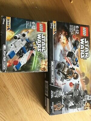 LEGO Star Wars 75160 - U-Wing Microfighter And 75195 Ski Speeder Vs First Order